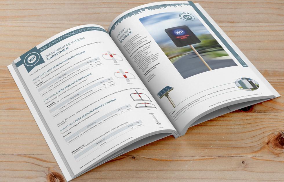 Catalogue WP signalisation - Panneaux de signalisation routière  double page 2