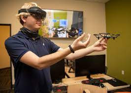 Ethan Hololens and Drone