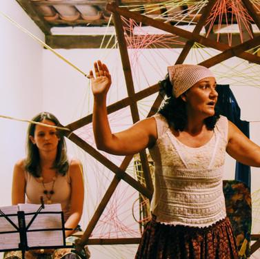 Lucia Correa e Chrys Pereira - teatro
