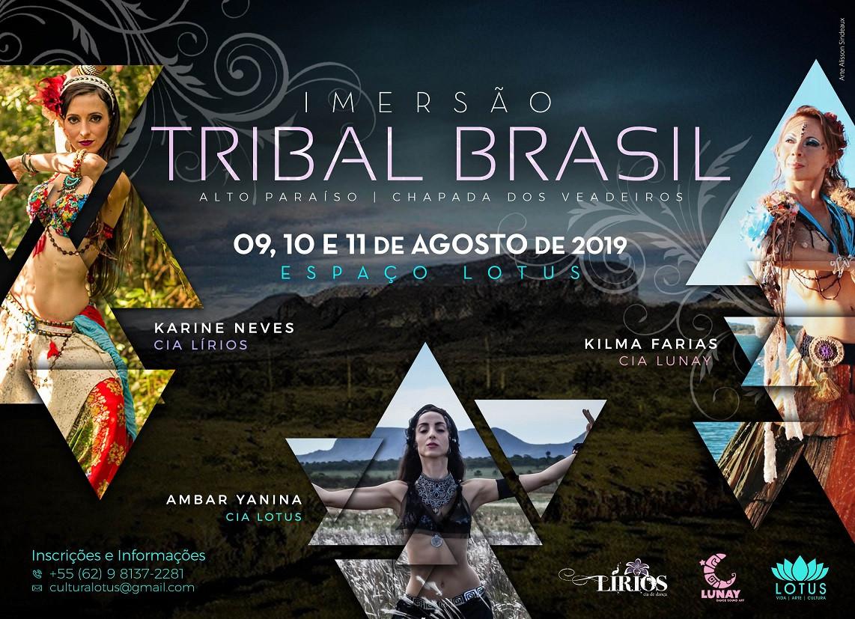 Cartaz Tribal Brasil 2019 09, 10 e 11 -