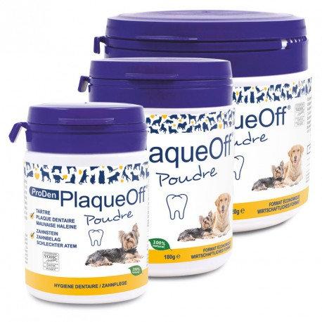 PlaqueOff poudre chiens