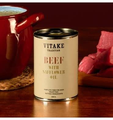 Vitaké tradition veau à l'huile de carthame (6 x 400gr)