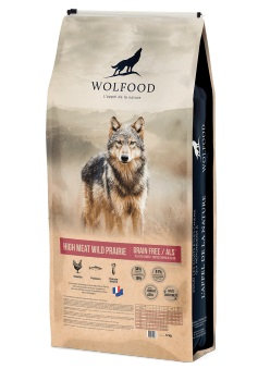 Wolfood High meat wild prairie 12kg