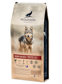 Wolfood original high meat 12kg