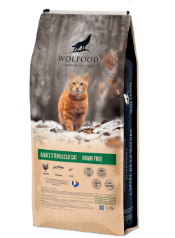 Wolfood Adult cat sterilized