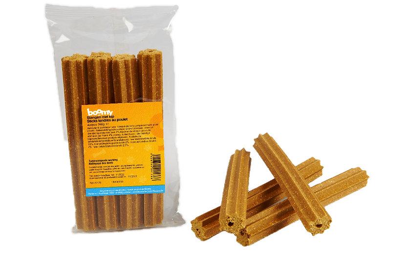 Sticks tendres au poulet - 4 pièces