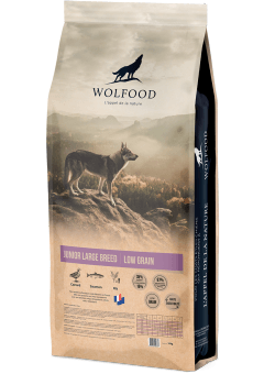 Wolfood junior large breed 35/15 14kg