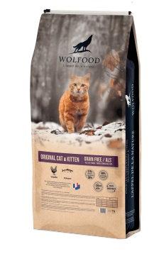 Wolfood original cat & kitten 10kg