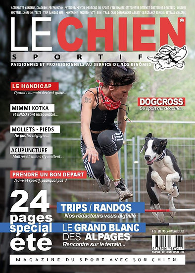 Le chien sportif magazine printemps-été 2020
