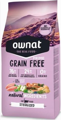 Ownatprime grain free cat sterilized 8kg