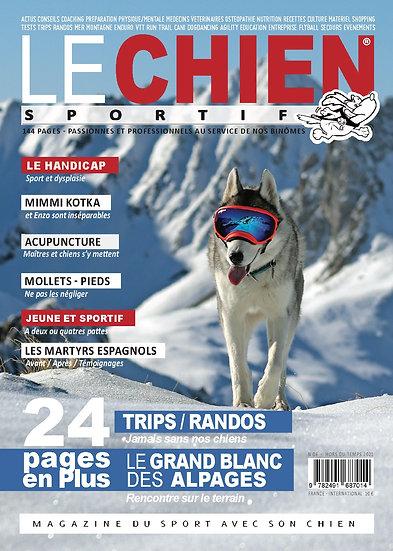 Le chien sportif magazine hors du temps 2021