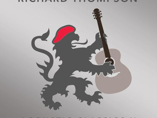 CD: Richard Thompson - Acoustic Classics II Another unplugged journey around the old master's ba