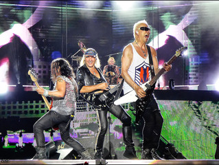 Scorpions/ Megadeth, O2 Arena review - by turns lavish, silly and exhilarating : The Stone Free Fest