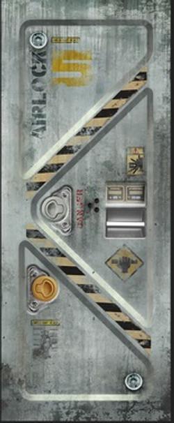 Airlock Door Impression