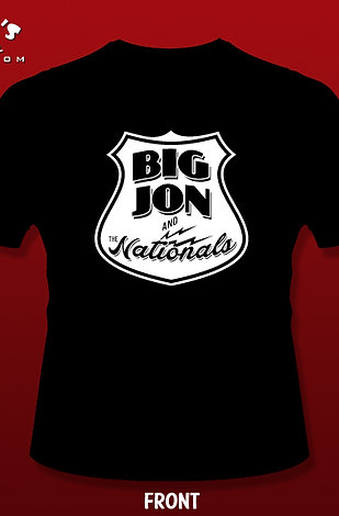 """Big Jon"" Atkinson & Nationals T-Shirt"