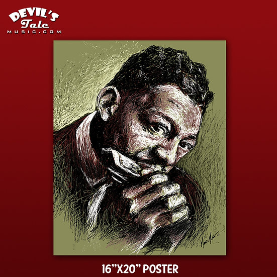Little Walter - 16″x20″ Poster