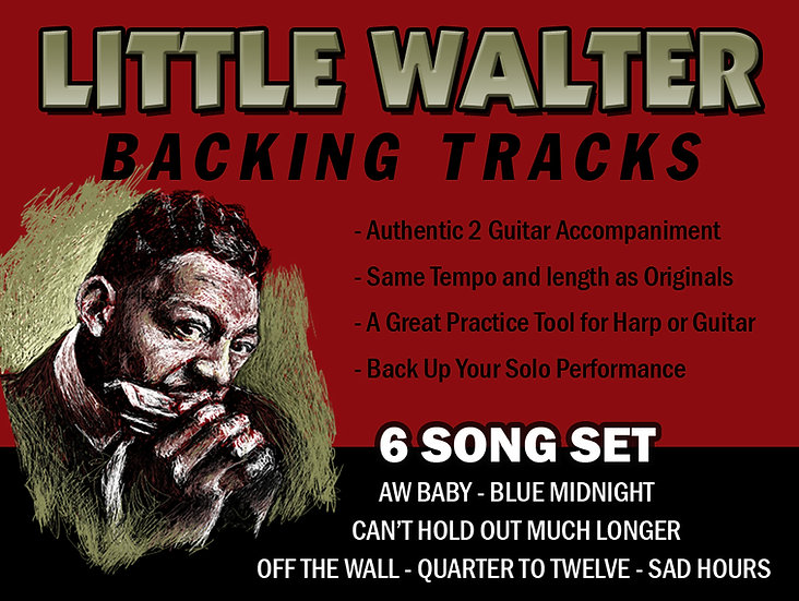 Little Walter Backing Track Digital Download (Off The Wall)