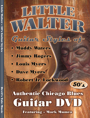 Little Walter backing Guitar Styles Instructional DVD