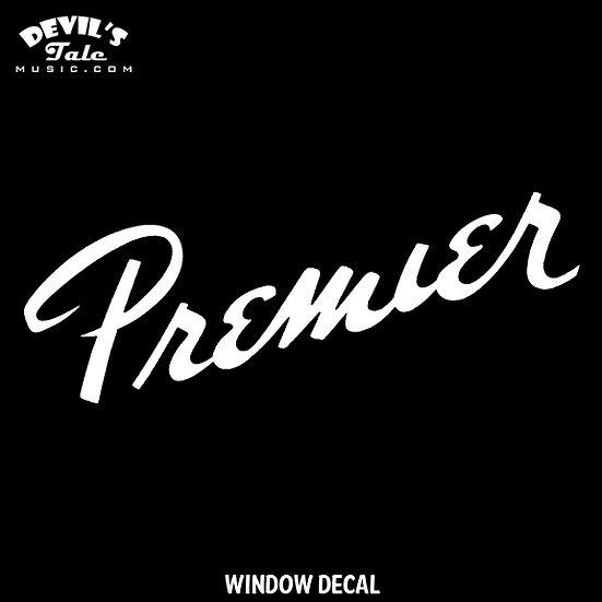 Premier Window Decal