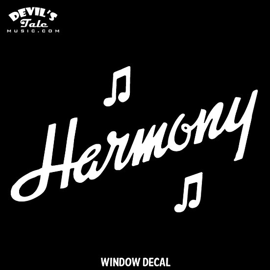 Harmony Window Decal