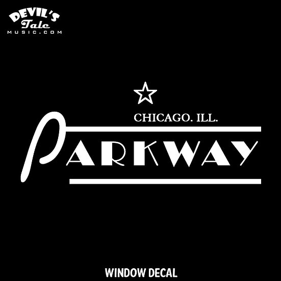 Parkway Window Decal