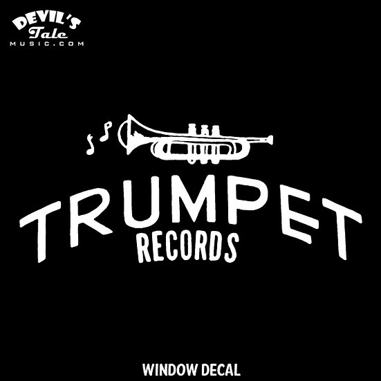 Trumpet Window Decal
