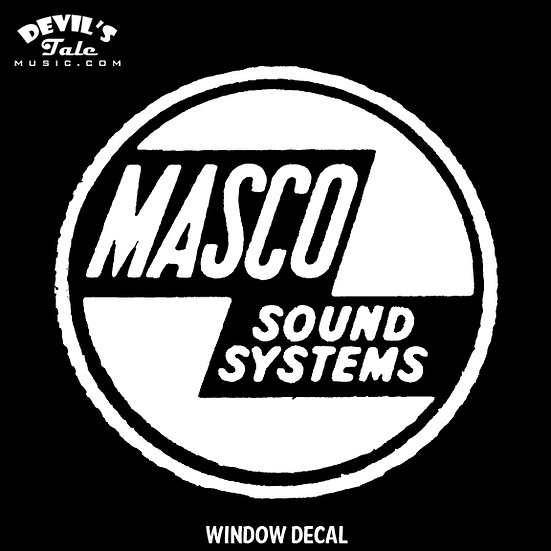 Masco Window Decal