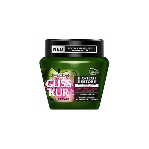 GLISS KUR HAARBUTTER BIO TECH RESTORE 2IN1 300ML
