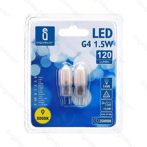 AIGOSTAR LED LAMPE G4 1,5W WARM