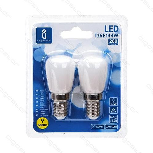 AIGOSTAR LED LAMPE T26 E14 4W WARM