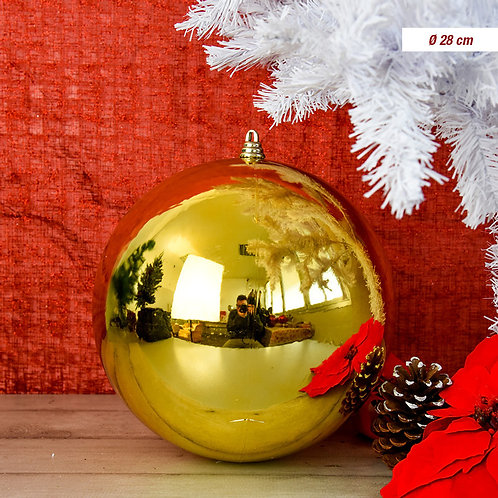 BALL 28 CM GLOSS GOLD;21