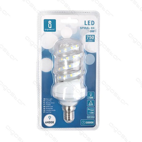 AIGOSTAR LED LAMPE E14 9W KLAT