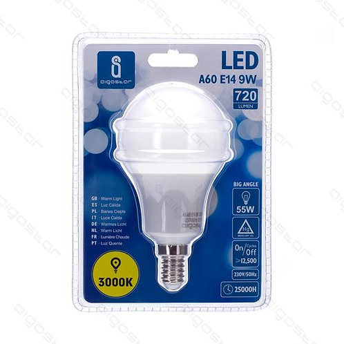 AIGOSTAR LED A60 E14 9W WARM