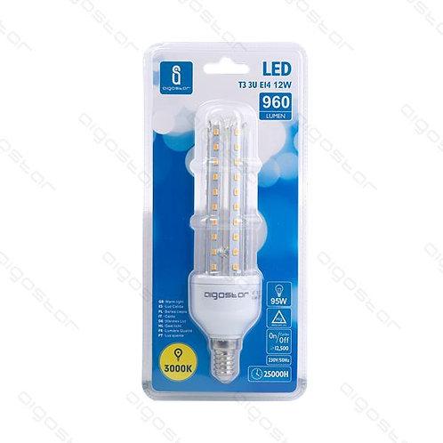 AIGOSTAR LED LAMPE 12W E14 WARM