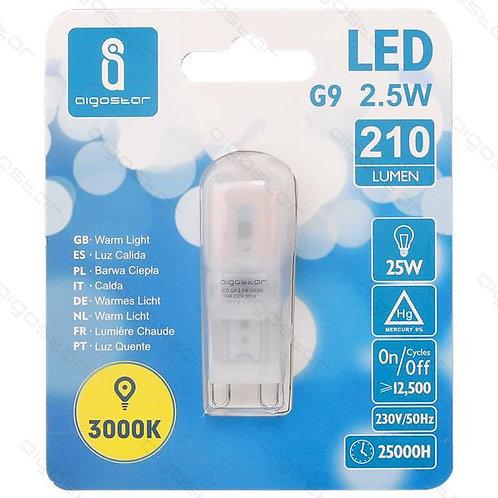 AIGOSTAR LED LAMPE G9 2,5W WARM