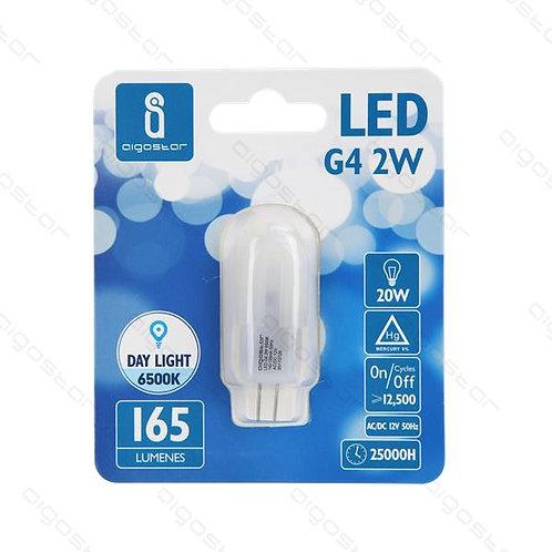 AIGOSTAR LED LAMPE G4 2W KALT