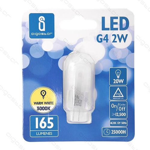 AIGOSTAR LED LAMPE G4 2W WARM