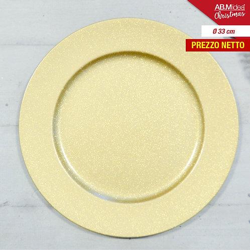 PLATTE PLATTE;WEIHNACHTSDIAM. 33 GOLD