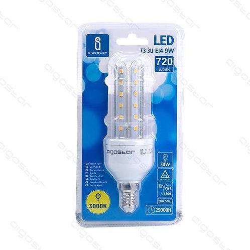 AIGOSTAR LED LAMPE 9W E14 WARM