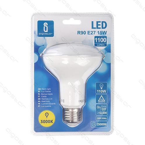 AIGOSTAR LED LAMPE R90 E27 15W WARM