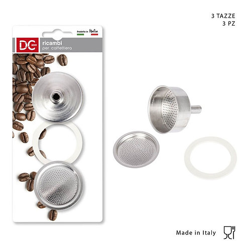 KAFFEEKANNE FILTER SET 3TASSE