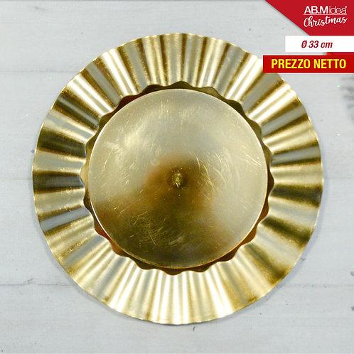 PLATTE PLATZ PLATZ;WEIHNACHTSDIAM. 33 GOLD