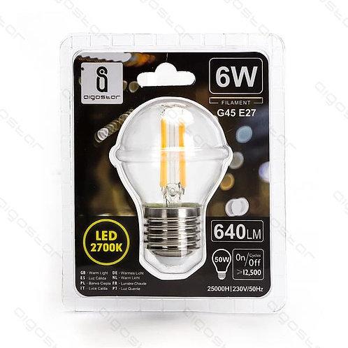 FILAMENT LED 6W E27 WARM