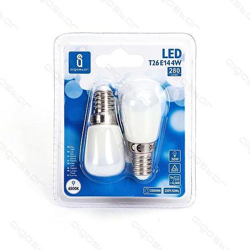 AIGOSTAR LED LAMPE T26 E14 4W KALT