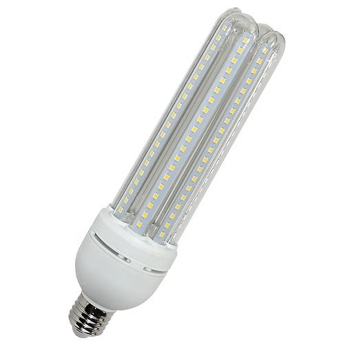 AIGOSTAR LED LAMPE T4 4U E27 30W KALT