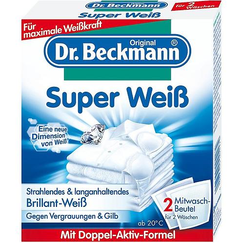 DR.BECKMANN SUPER WEIß 2 MITWASCH BEUTEL