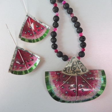 Water melon jewellery price guide £49-£120