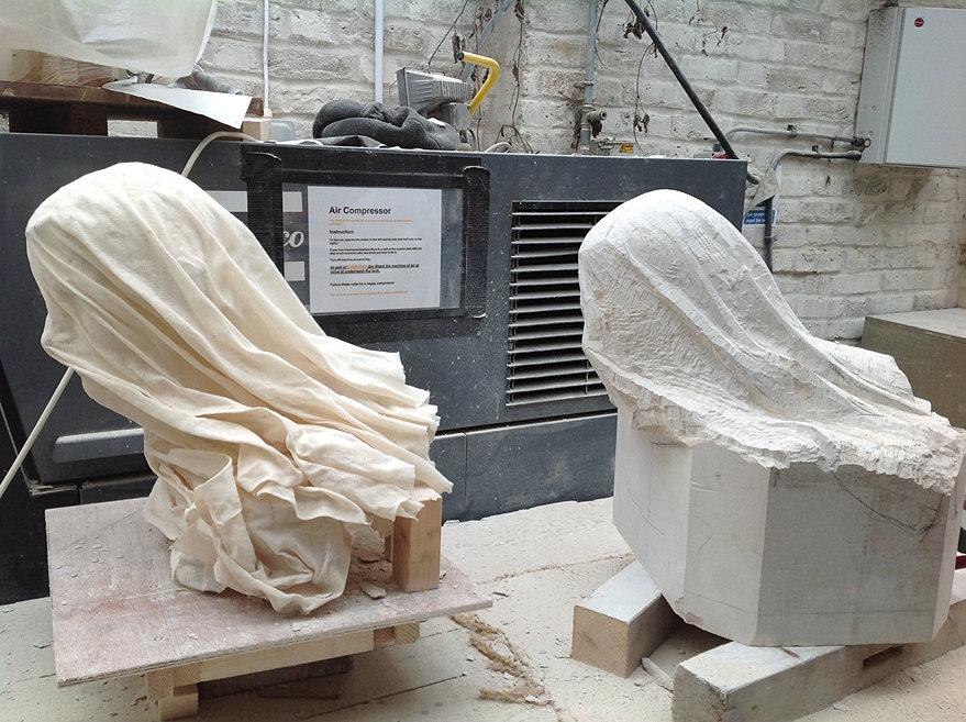 Anna rubincam stone carving london