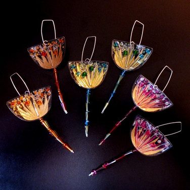 firework dangle earrings price guide £48