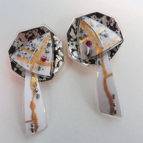 Eclectic Monochrome earrings, price guide £54.